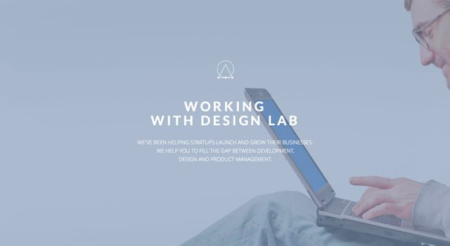 Design Lab: One Page Home HTML Template