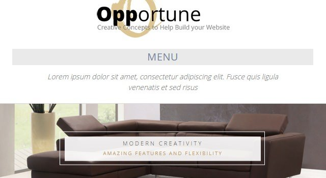 Opportune: Clean &responsive Multipurpose WordPress Theme
