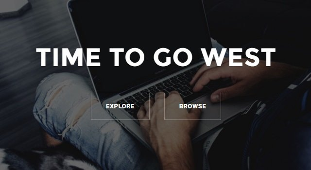 West: Agency Home Page WordPress Theme