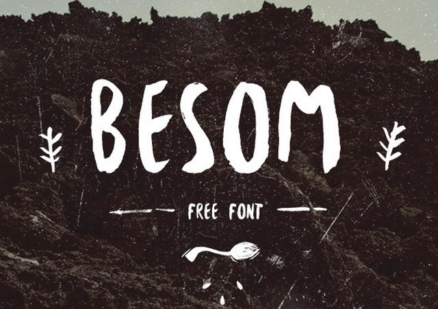 besom font