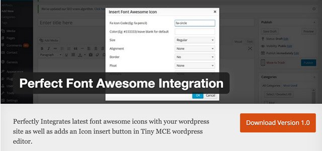 perfect-font-awesome-integration