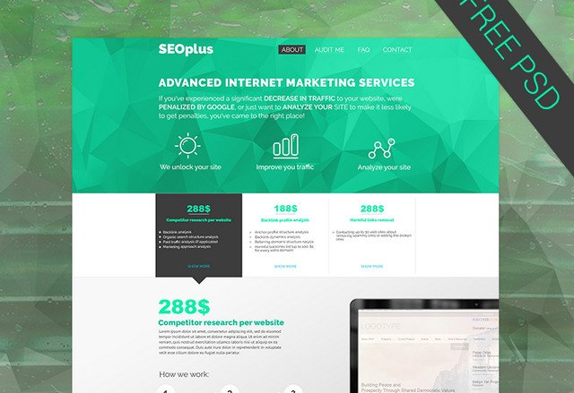 template for seo agency