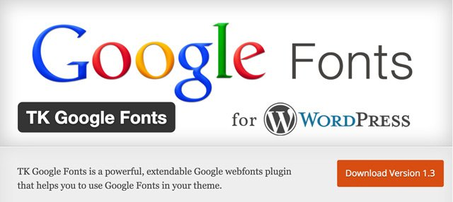 TK-Google-Fonts
