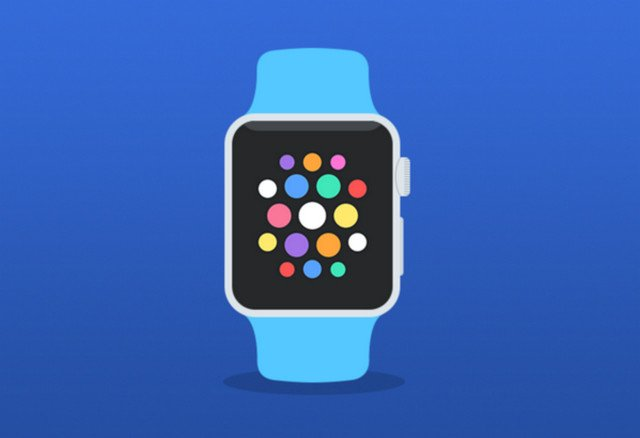 apple watch vector