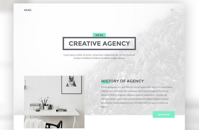 theme for creative agency