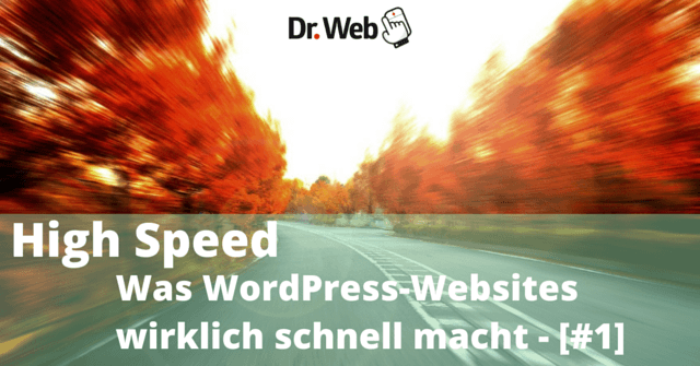 High Speed: Was WordPress-Websites wirklich schnell macht - [#1]
