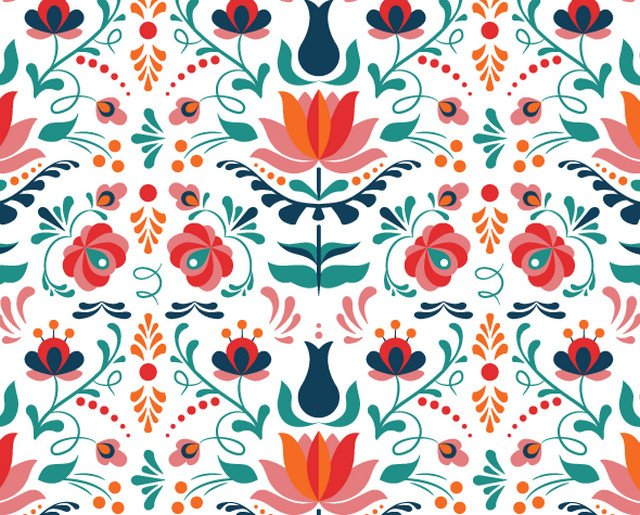 how-to floral pattern
