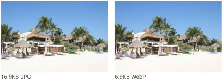 The Advantages of the WebP Image Format