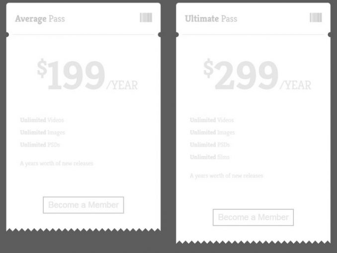 ticket-styled-pricing-table