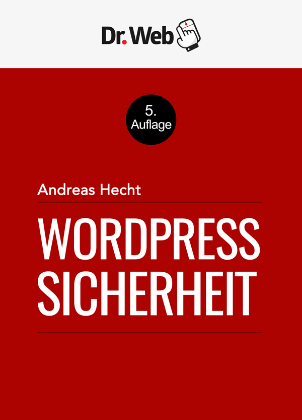 E-Book WordPress Sicherheit von Andreas Hecht