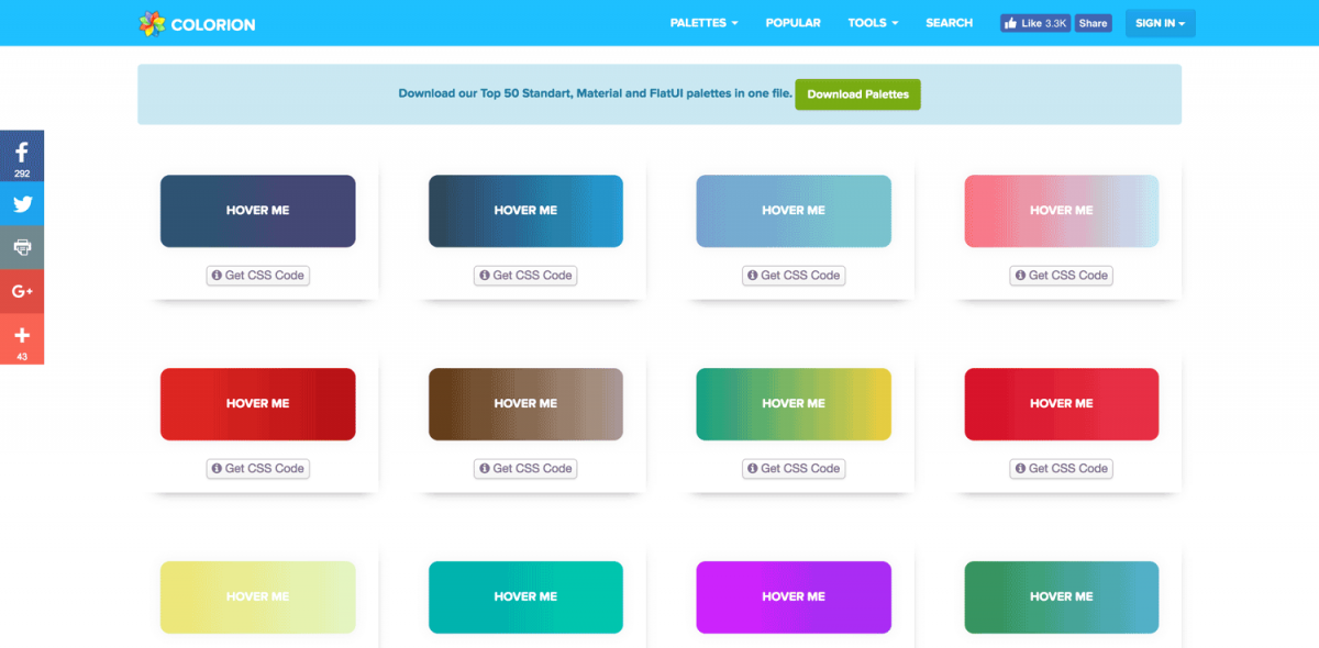 Gradient-Buttons