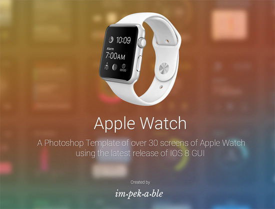 Next Big Thing: 24 kostenlose Apple Watch Templates für das perfekte Mockup