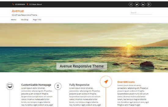 Avenue WP theme
