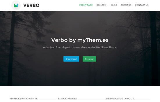 Verbo WP theme