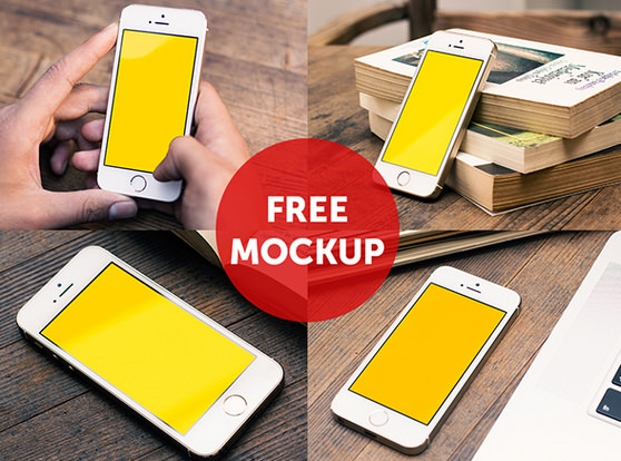 pack of iphone mockups
