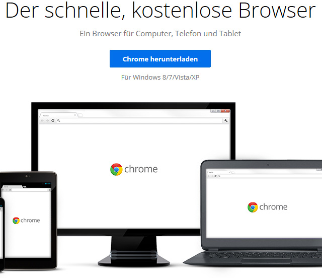 Google Chrome per Shortcut: Alle Tastenkürzel in deutscher Sprache