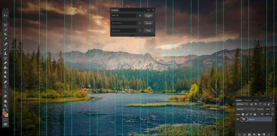 Griddify: Open Source Extension für Adobe Photoshop erstellt frei konfigurierbare Raster