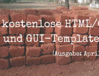 April 2015: 20+ kostenlose HTML/CSS, PSD und GUI-Templates