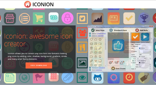 Iconion: Neues Tool konvertiert Icon-Fonts zu Icon-Dateien