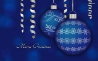 Blue Christmas Decorations (Zur Quelle)