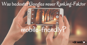 Ranking-Faktor mobile-friendly