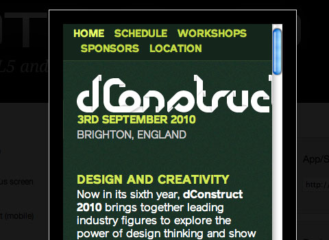 dConstruct site in ProtoFluid