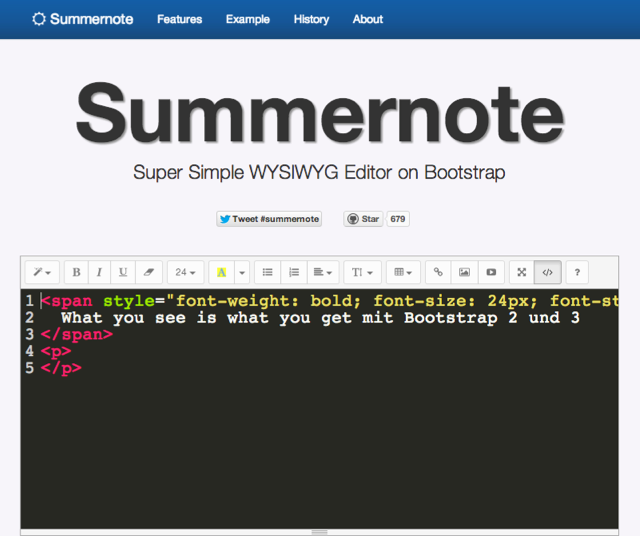 summernote-codeview