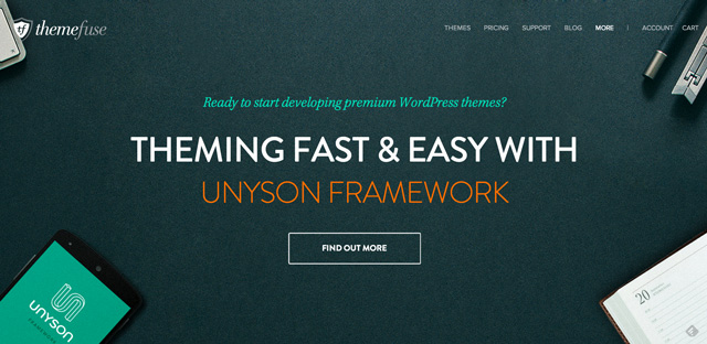 Unyson, das Drag and Drop Framework für WordPress