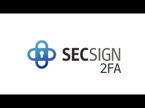 Two factor authentication with SecSign ID: Identity and access management solutions provider