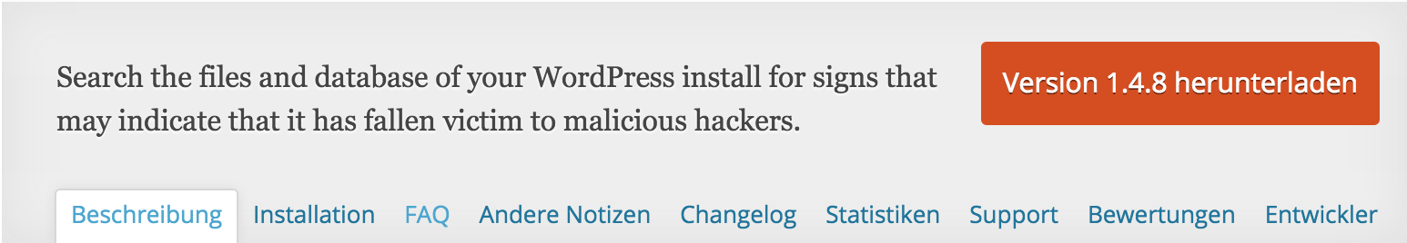 Exploit Scanner WordPress Plugin