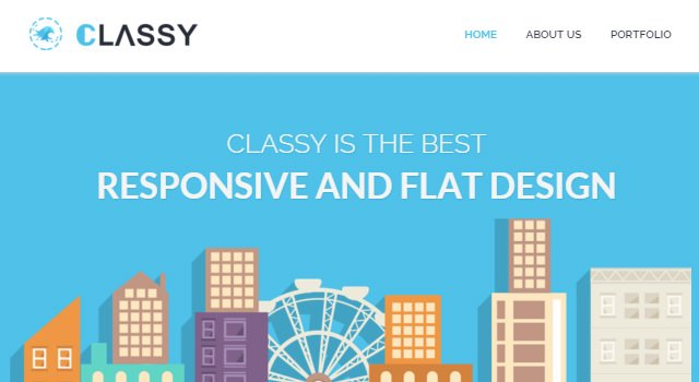 ClassyLite: Business WordPress Theme