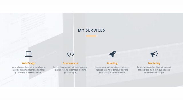 Maven: One Page Resume Web Template