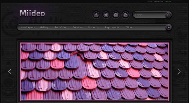 Neon: A Dark and Purple Glowing WordPress Theme