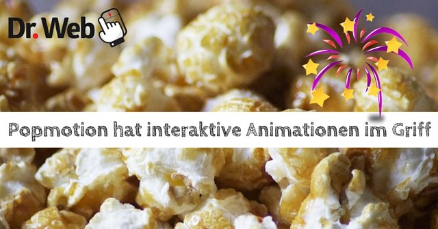 Popmotion hat interaktive Animationen im Griff