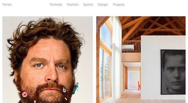 Portra: Responsive Horizontal Photography WordPress Theme