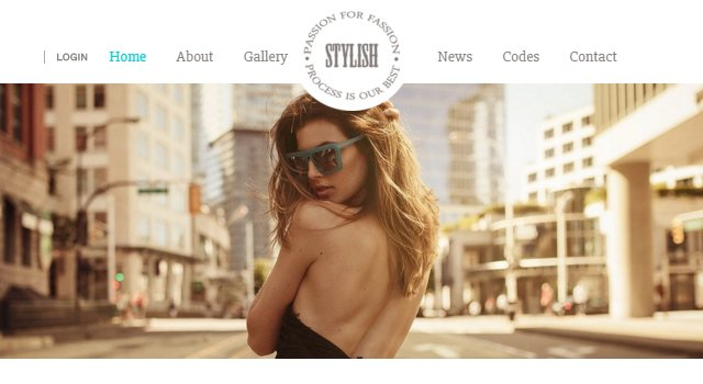 Stylish: Fashion Flat Bootstrap Template