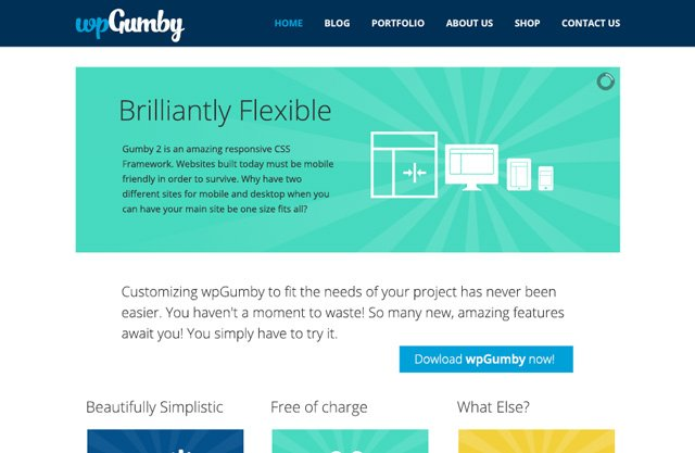 WPGumby WordPress-Theme
