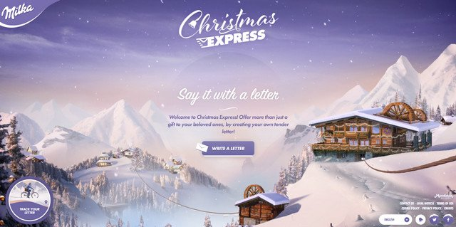 2-Christmas Express by Milka