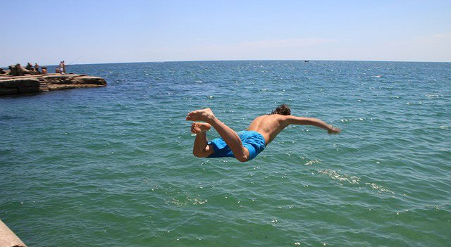 Begin part-time or take the plunge into the cold water?