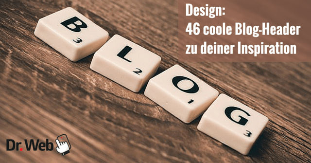 Design: 46 coole Blog-Header zu deiner Inspiration