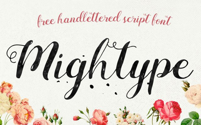 mighttype font