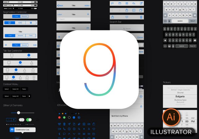 ios9 illustrator