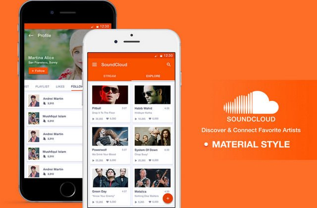 sound cloud redesign