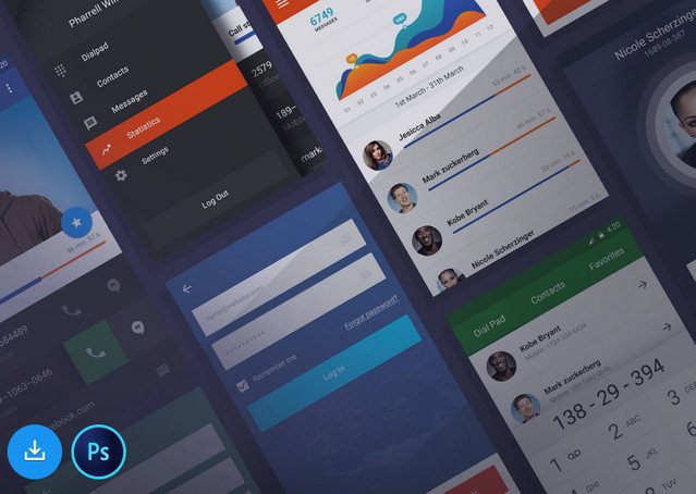 ui kit or stars