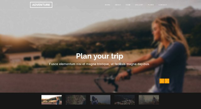 Adventure: Clean & Creative Agency Template