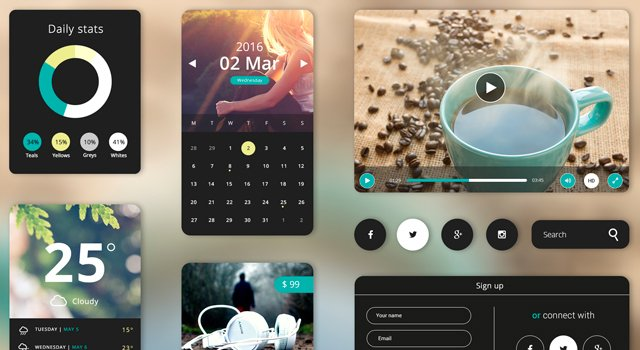 Creama: Stylish UI Starter Kit