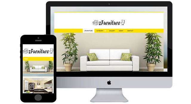 ZFurniture2: Responsive HTML5 Template