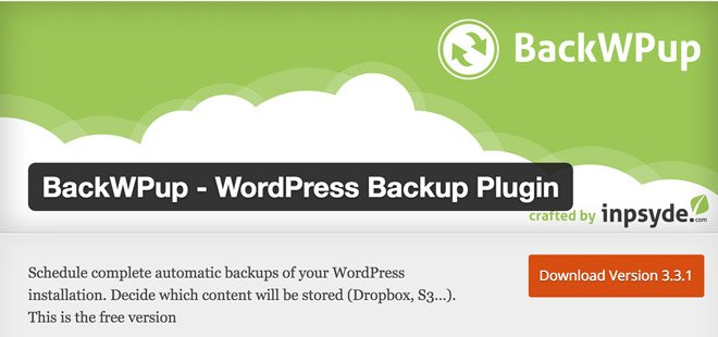 BackWPup-WordPress-Plugin