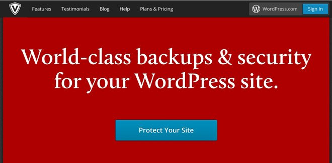 VaultPress WordPress-Backups