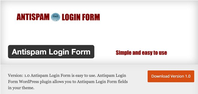 antispam-login-form